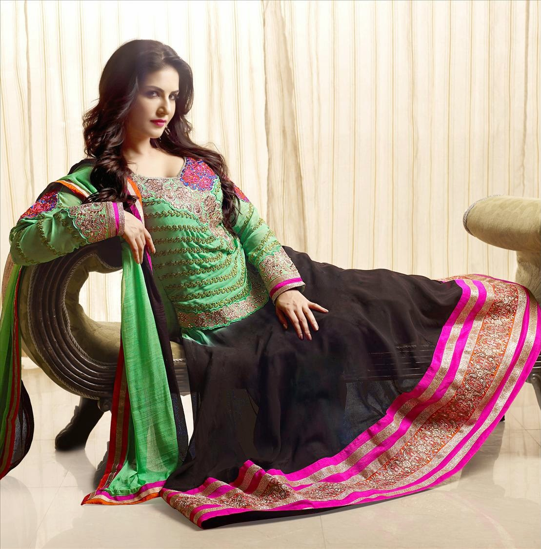 online anarkali dress shopping