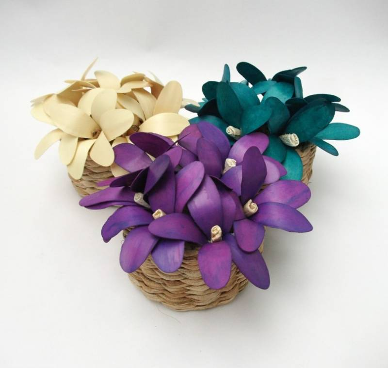 artificial flower basket