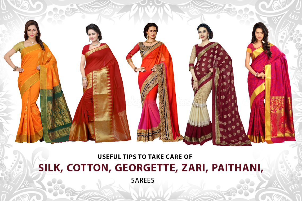 Tips to take care of expensive sarees