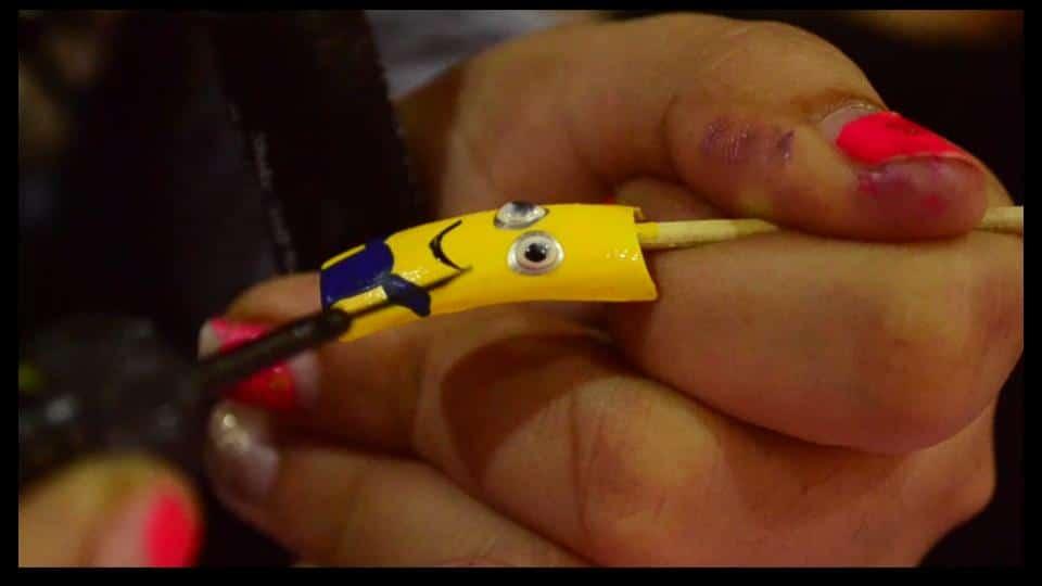 Minion-nail-art-design