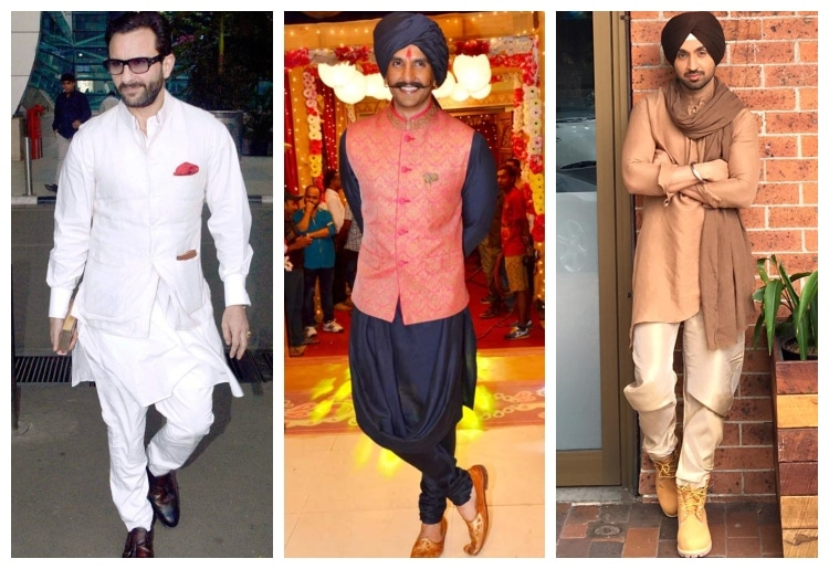 6 Bollywood Actors In Kurta Pajamas Styles Actor saif ali khan, who was felicitated with the padma shri, india's fourth highest civilian award in 2010, says he wanted to return it. 6 bollywood actors in kurta pajamas styles