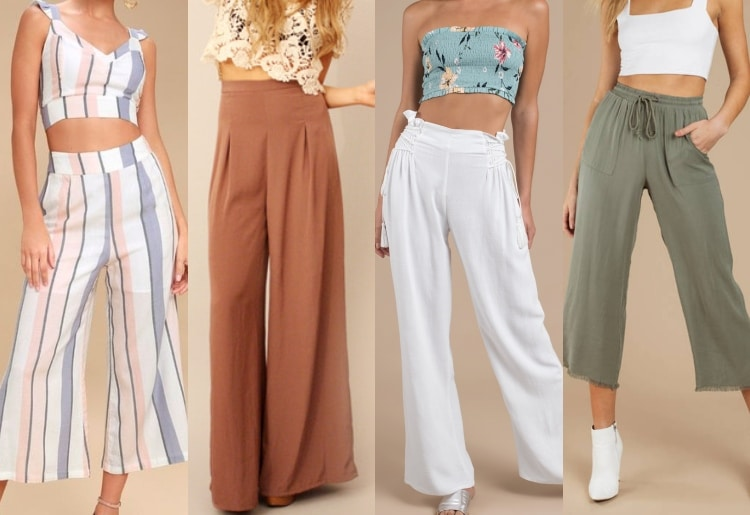 styling tips for palazzo pant and top