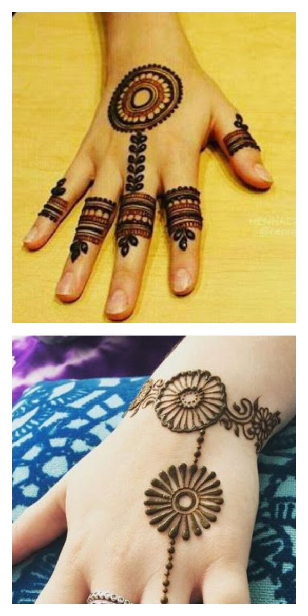 easy small mehndi designs