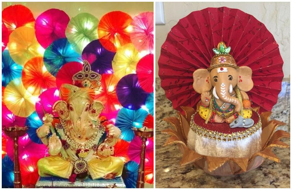 ganpati decoration theme