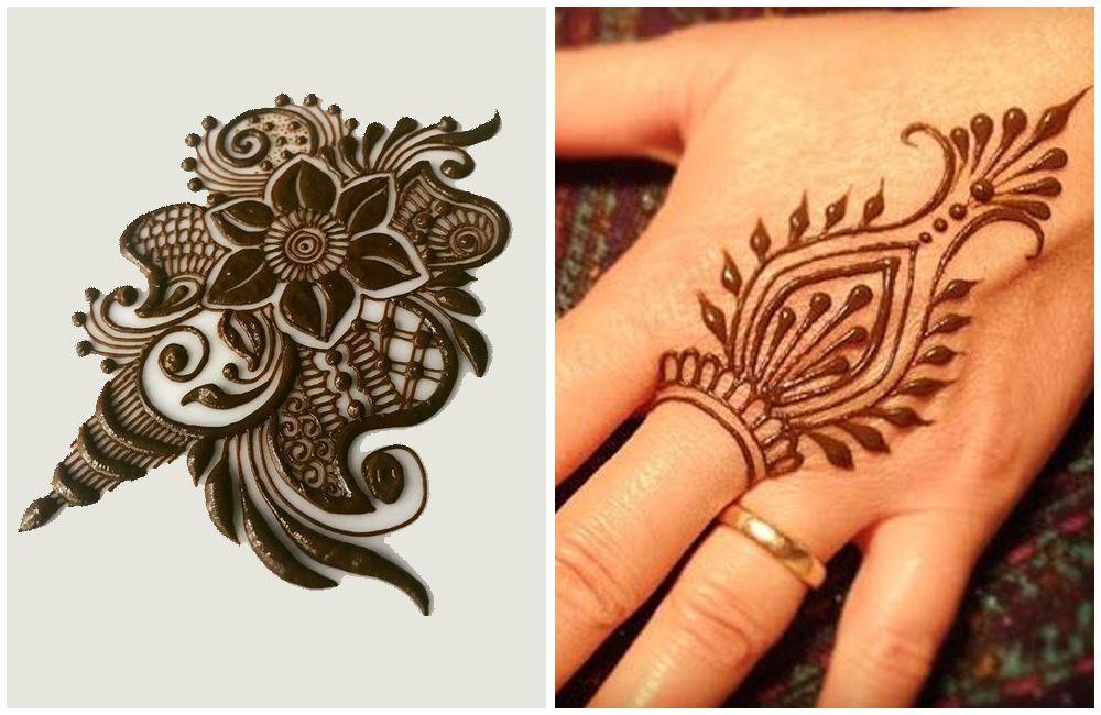 easy mehndi designs for hands for kids
