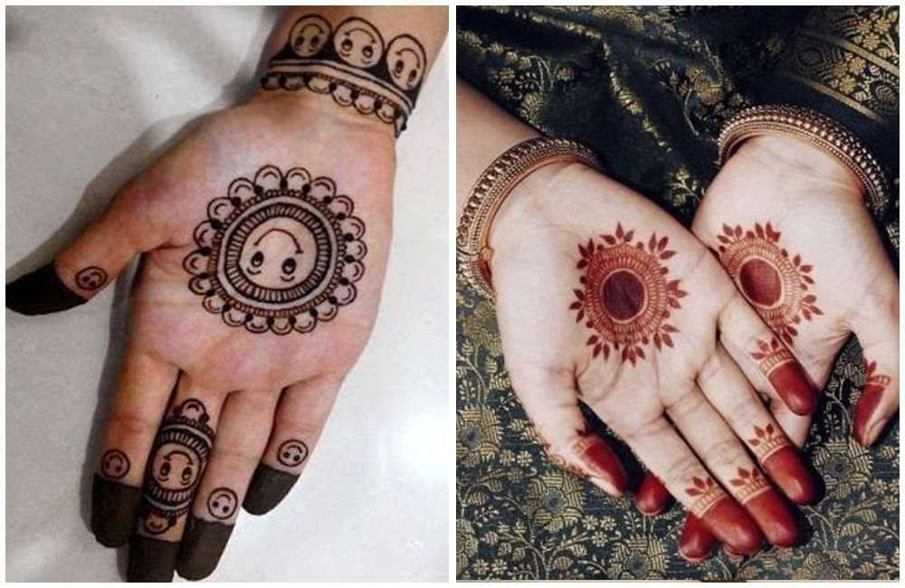 mehandi designs for kids front hand