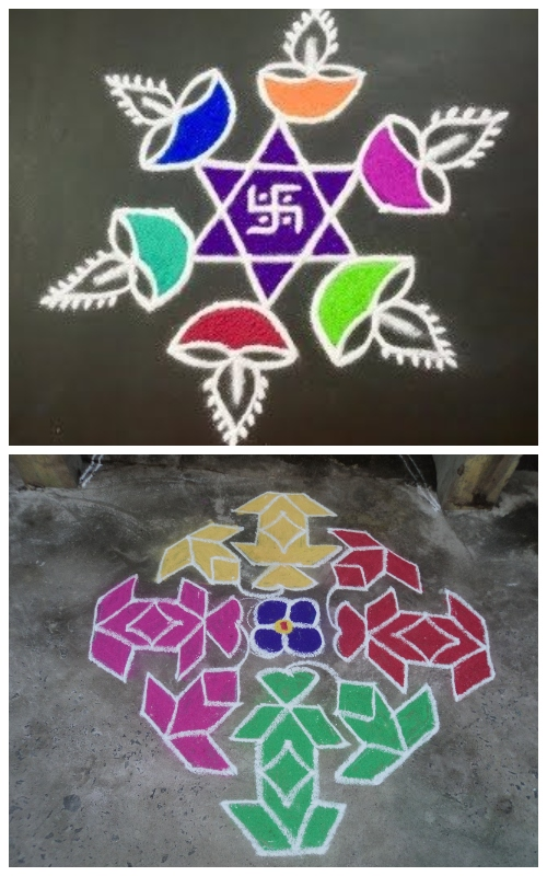 10 Beautiful Pulli Kolam Designs To Decorate Your Home