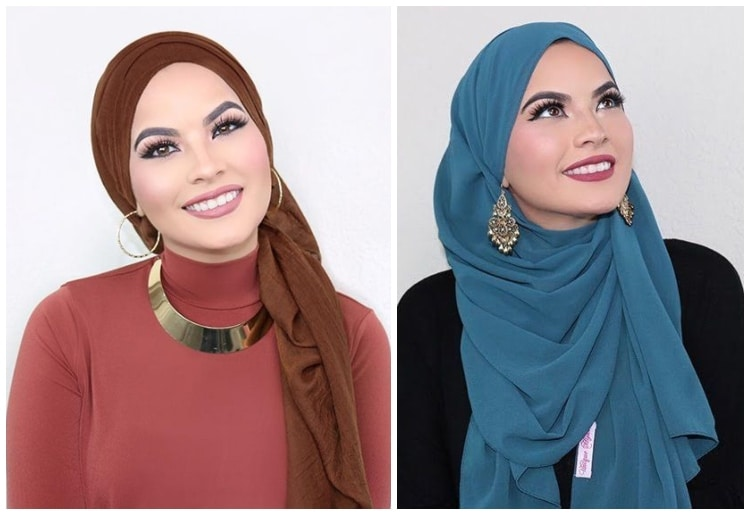 15 Different Hijab Wearing Styles Step By Step